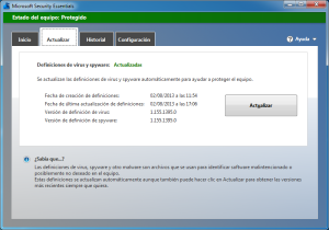 Windows 7 2013 08 02 17 06 52 300x210 Microsoft Security Essentials: Completa Suite de Seguridad para tu PC