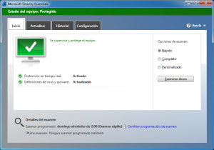 Windows 7 2013 08 02 17 31 27 300x210 Microsoft Security Essentials: Completa Suite de Seguridad para tu PC
