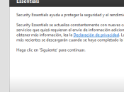 Microsoft Security Essentials: Completa Suite Seguridad para