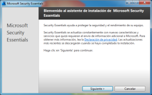 Windows 7 2013 08 02 16 56 50 300x188 Microsoft Security Essentials: Completa Suite de Seguridad para tu PC