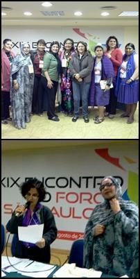 Moción de solidaridad con la lucha de las mujeres saharauis en el Foro de Sao Paulo