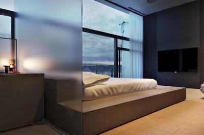 Casa minimalista de hormigon visto paperblog for Acabados minimalistas interiores