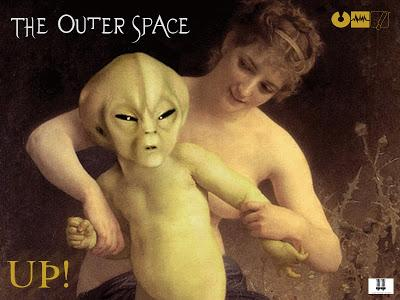 THE OUTER SPACE - UP! / BREAK IT DOWN ( E.P 2013 )