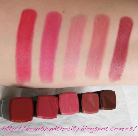 Revlon Colorburst Lipsticks - Review photos swatches