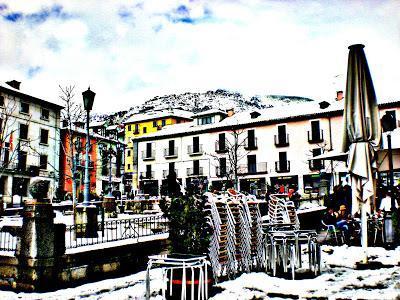 Un poco de arte. Invierno. Nieve