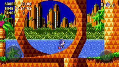 Sonic CD ya disponible en OUYA