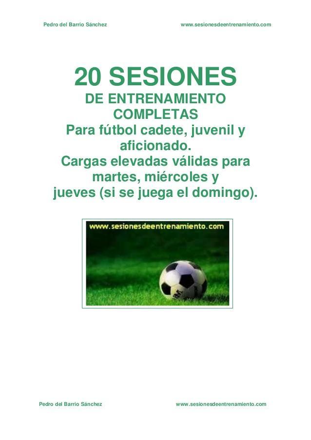 20+sesiones+de+entrenaiento+futbol from Entrenamiento Chico Almogia ...