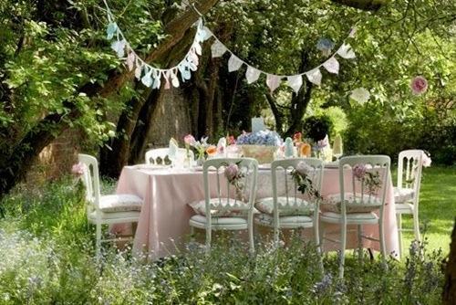 Tips para decorar una fiesta en el jard n paperblog - Fiesta en el jardin ...