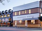 Prahan Hotel, Melbourne industrial arquitectonico.