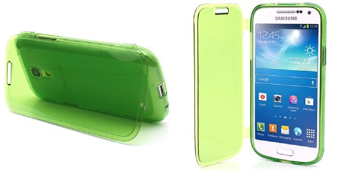 Funda transparente para Galaxy S4 mini