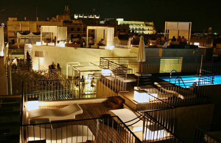 Especial terrazas oasis de relax paperblog - Terraza hotel eme ...