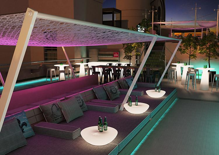 Especial terrazas oasis de relax paperblog - Hotel mediterranea madrid ...
