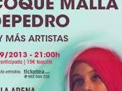 Concierto benéfico Vetusta Morla, Coque Malla Depedro septiembre Madrid Sáhara