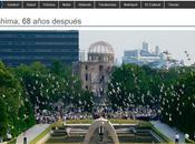 aniversario bomba hiroshima: palomas