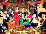 "Juana, mural ""Canta llores"""