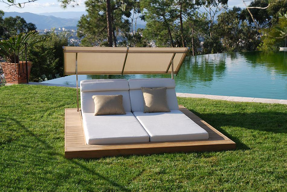 Tumbonas de dise o paperblog for Transat confortable jardin