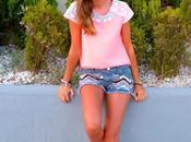 Fluor pink+shorts