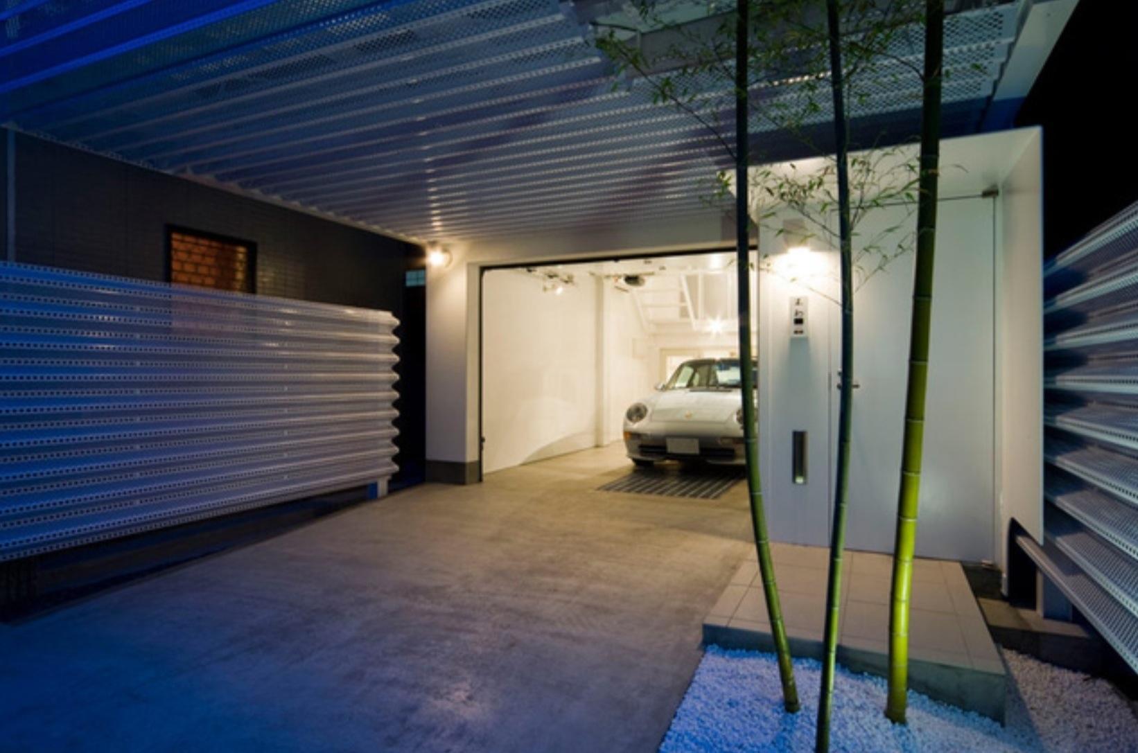 El garaje m s elegante jam s dise ado paperblog - Diseno de garajes ...