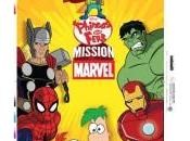 Tres nuevos pósters promocionales Phineas Ferb: Mission Marvel