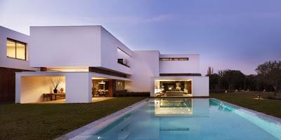 Casa minimalista en madrid paperblog for Casa minimalista blog