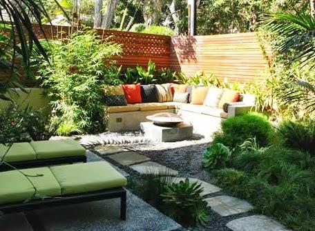 Un peque o jard n de estilo mediterr neo paperblog for Un jardin con enanitos
