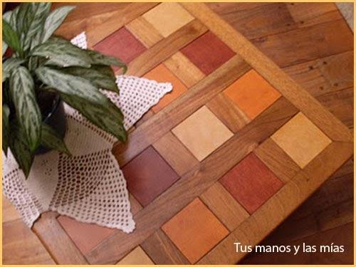 Restauraci n de una mesa ratona paperblog - Como restaurar una mesa de madera ...