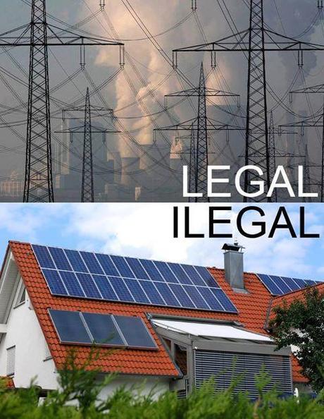"""""""Quien tenga una placa solar en su tejado o cualquier otro..."""