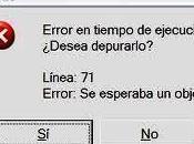 Mensajes error