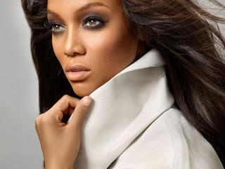 Tyra Banks Bare Face In Newyork