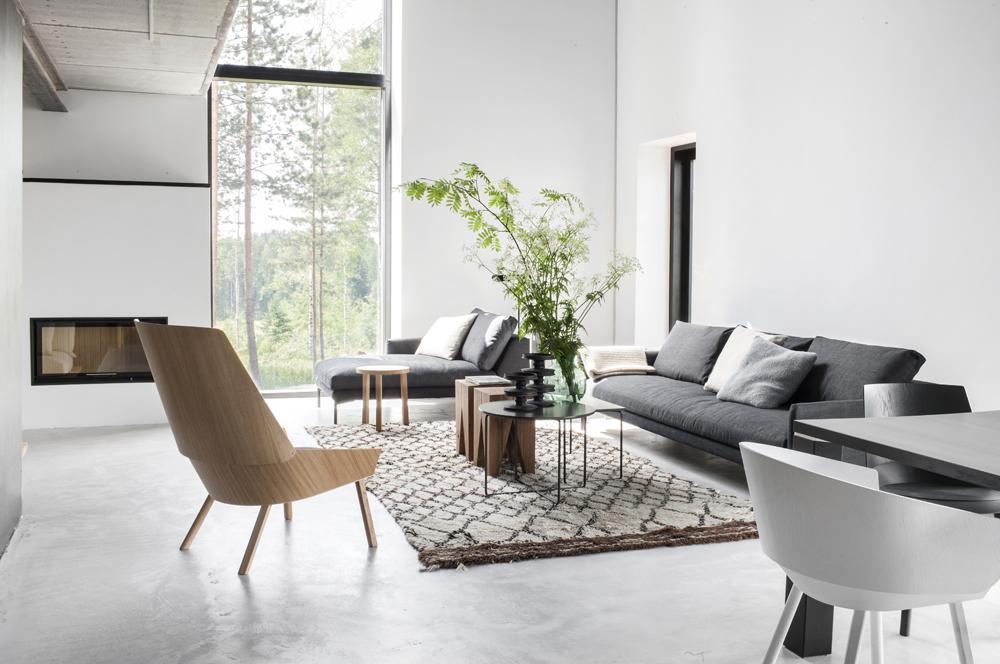 Incre ble estilo escandinavo con concreto madera y mucho - Casas estilo escandinavo ...