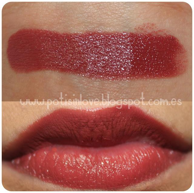 You may want to see this photo of raisin rage lipstick