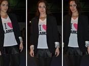 Look Falda cuero Camisa Glamour