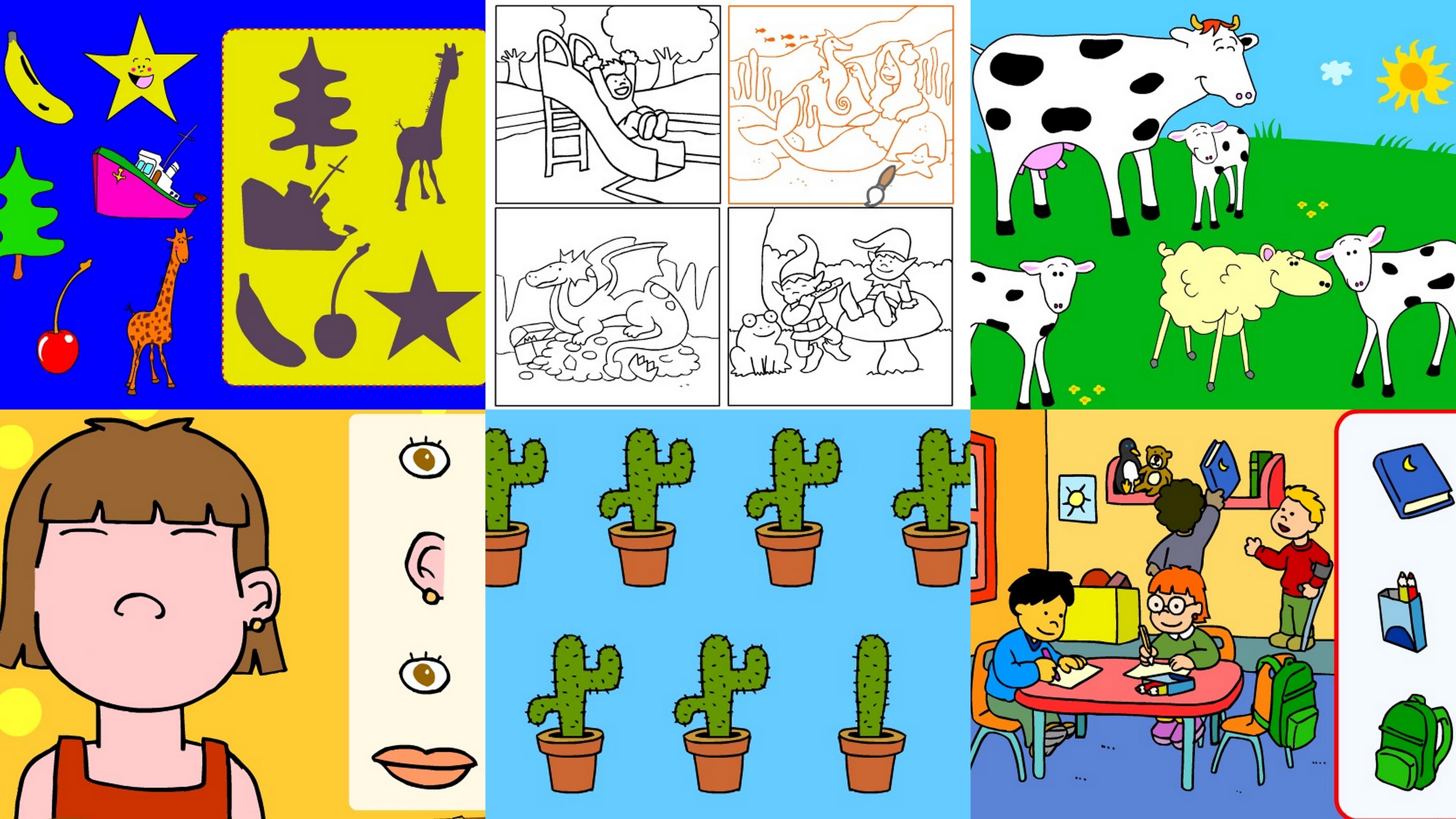 Actividades interactivas para niños de 3 años: 1 - Paperblog