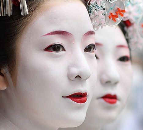 maquillaje para kimono