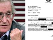 Memorandum demuestra espionaje Noam Chomsky