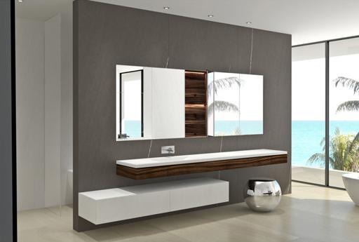 Últimos diseños de cuartos de baño para la vivienda proyectada por a ...