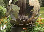Antoine saint-exupéry,aviador literato francés autor ...el principito...monumento jardín royal toulouse...16-08-2013...