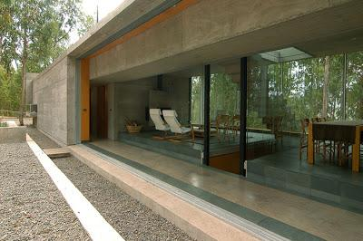 casa minimalista de hormigon