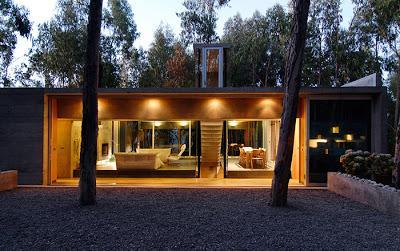 Casa minimalista de hormigon paperblog for Casa minimalista bosque
