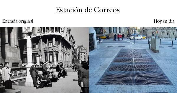 Blog barcelona misteriosa misterios del metro de barcelona for Oficina de correos barcelona