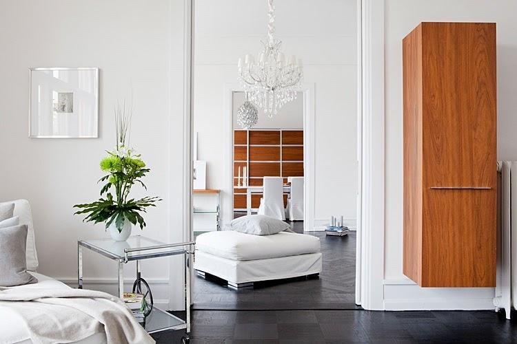 Apartamento de techos altos en Suecia - Paperblog