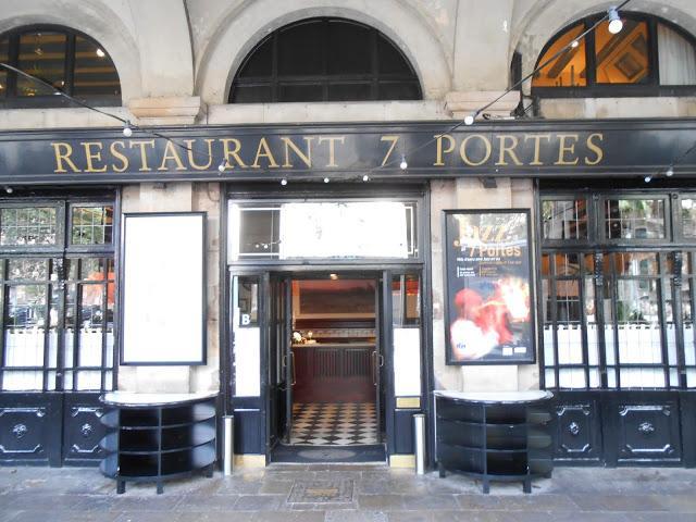 Restaurant 7 portes any 1836 2013 17 de agosto 2013 for 7 portes barcelona menu