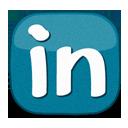 Icono de linkedin - enredenlared