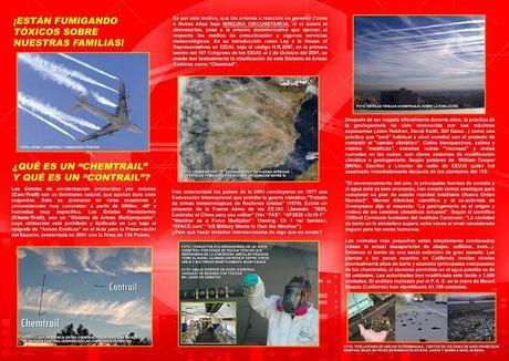 25 de AGOSTO. MARCHA MUNDIAL contra los CHEMTRAILS y la GEOINGENEIRÍA