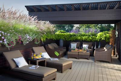 Las terrazas modernas ii paperblog for Decoracion de terrazas rusticas