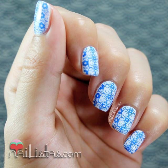 Unas Decoradas Con Azulejo Portugues Azul Y Blanco Paperblog