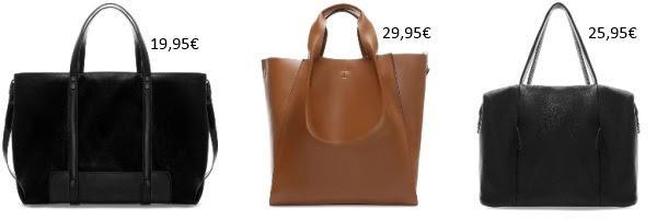 Bolsos grandes de nueva temporada en Zara