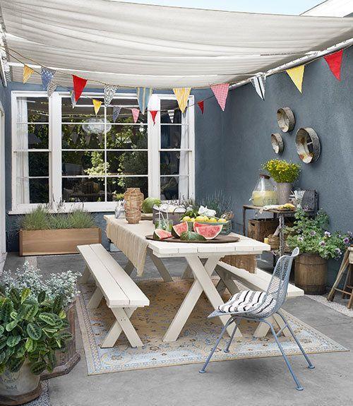 Al refugio de la terraza decoracion de rincones de verano - Refugios con encanto ...