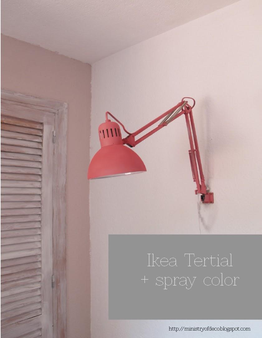 Deconi os l mpara diy con un flexo de ikea paperblog - Flexos de pared ...