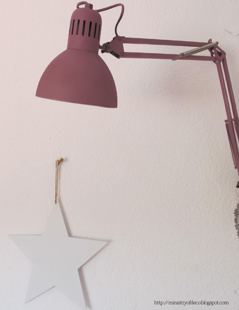 Deconi os l mpara diy con un flexo de ikea paperblog - Lamparas pared ikea ...